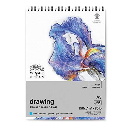 Winsor & Newton 6691007 - Papel de dibujo (DIN A3), color blanco