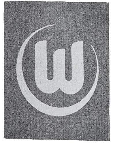VfL Wolfsburg Kuscheldecke Wellsoft Decke 150 x 200 cm