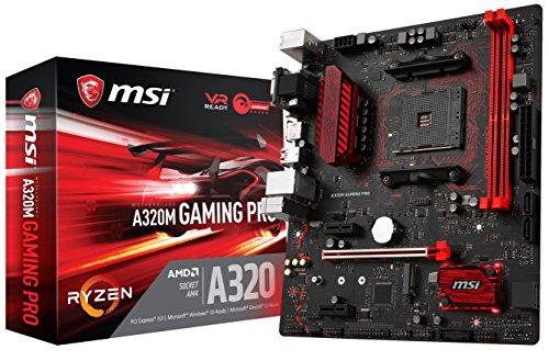 MSI Gaming AMD Ryzen A320