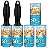 Best Lint Brushes - KEEOU Lint Rollers for Pet Hair Extra Sticky Review