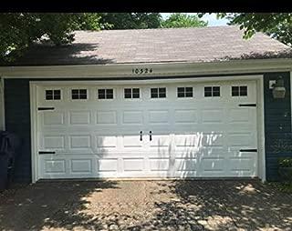 Magnetic Panels for Car Garage Door Decoration, Fake Decorations Window Panels for Garage Doors,Grace Make Rubber Magnetic Panels, 32 Pcs, 4 x 6 inch