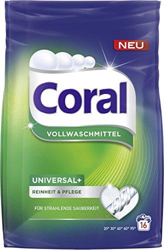 Coral volwasmiddel universeel + poeder, 16 WL per stuk verpakt (1 x 1,12 l)