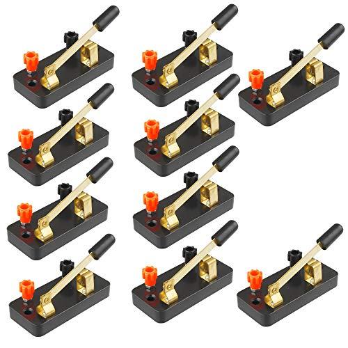 tatoko Educational Single Pole Knife Switch Physics Laboratory Equipment Single Pole Single Throw (SPST) Switch 10PCS