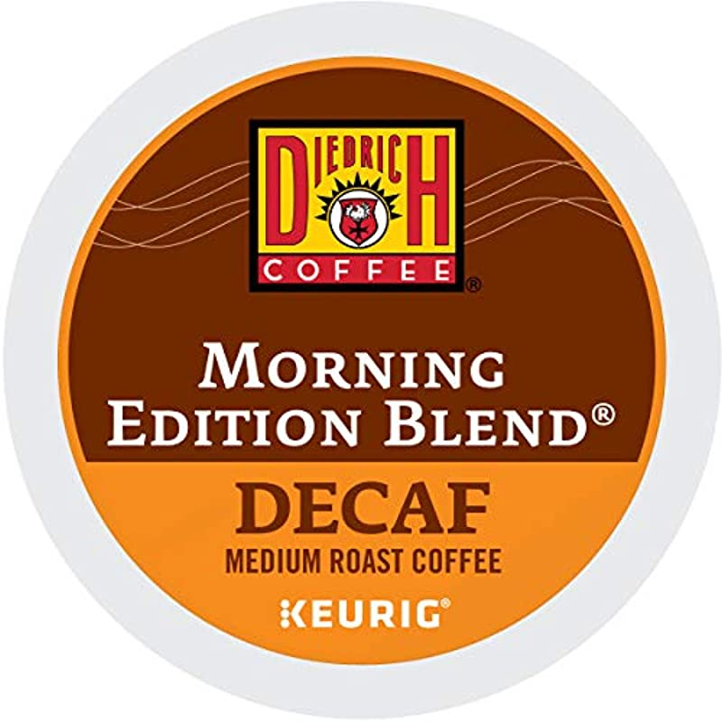 Diedrich Morning Edition Blend Decaf Single Serve Keurig K Cup Pods Medium Roast Coffee 96 Count 4 Boxes Of 24 Pods