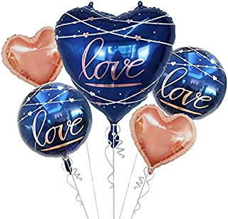 Party Propz Love Foil Balloon set of 5