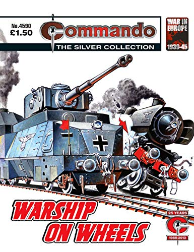 Commando #4590: Warship On Wheels (English Edition)