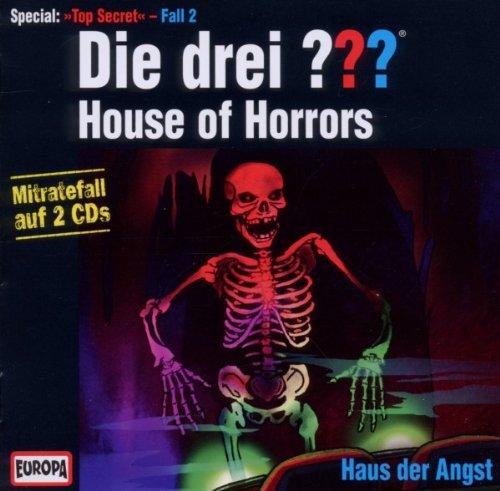 Die Drei ??? - Top Secret Fall 2 - House of Horrors - Haus der Angst, Mitratefall auf Doppel-CD