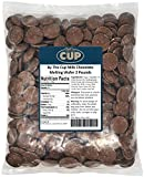 By The Cup Milk Chocolate Wafer Candy Melts 2 Pound Bag for Chocolate Fountain, Fondue Sets, Molds...
