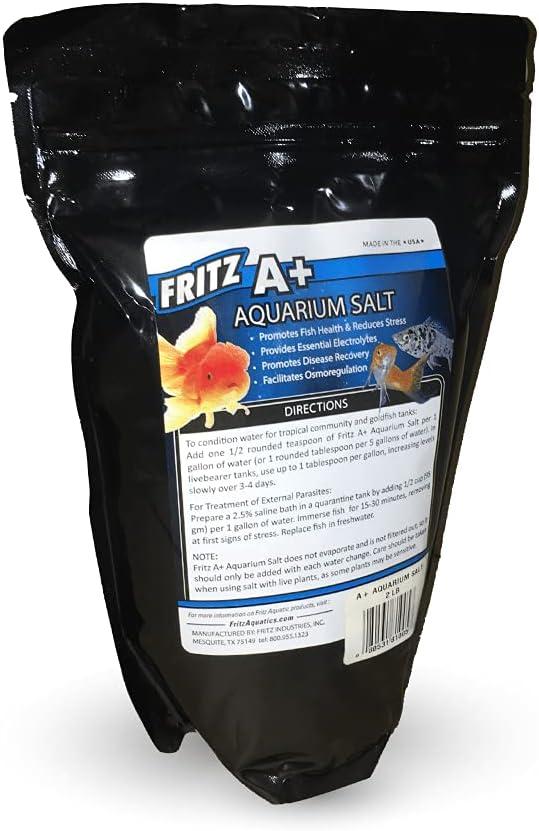 Fritz Aquatics A+ Aquarium Salt Max 45% OFF for Fish Treatment Freshwater Purchase