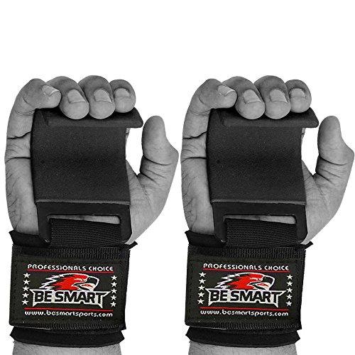BS Power Gewichtheben Training Gym Gurte Haken Bar Haken Griff Handgelenk Unterstützung Lift Handschuhe Kostenlose Lieferung