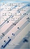 P.Mascagni 'Intermezzo' da Cavalleria rusticana: rielaborazione per quartetto di flauto, violino, arpa e organo . Con mp3 (Italian Edition)