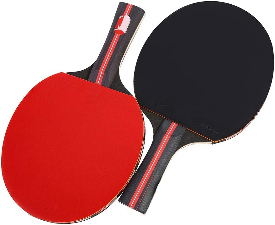 High material Chiwe Table Tennis Set 2 T Pong Player Fun Shake-Hand Max 47% OFF