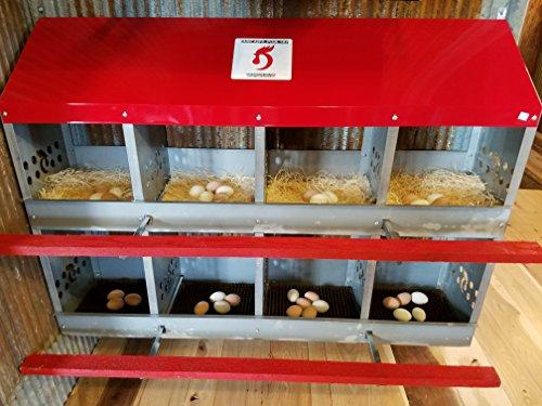 Duncan's Poultry 8 Hole Hen Nest