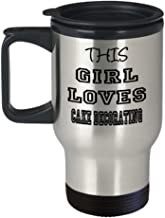 Funny Cake decorating Gifts Insulated Travel Mug - This Girl Loves - Best Inspirational Gifts and Sarcasm ak6790