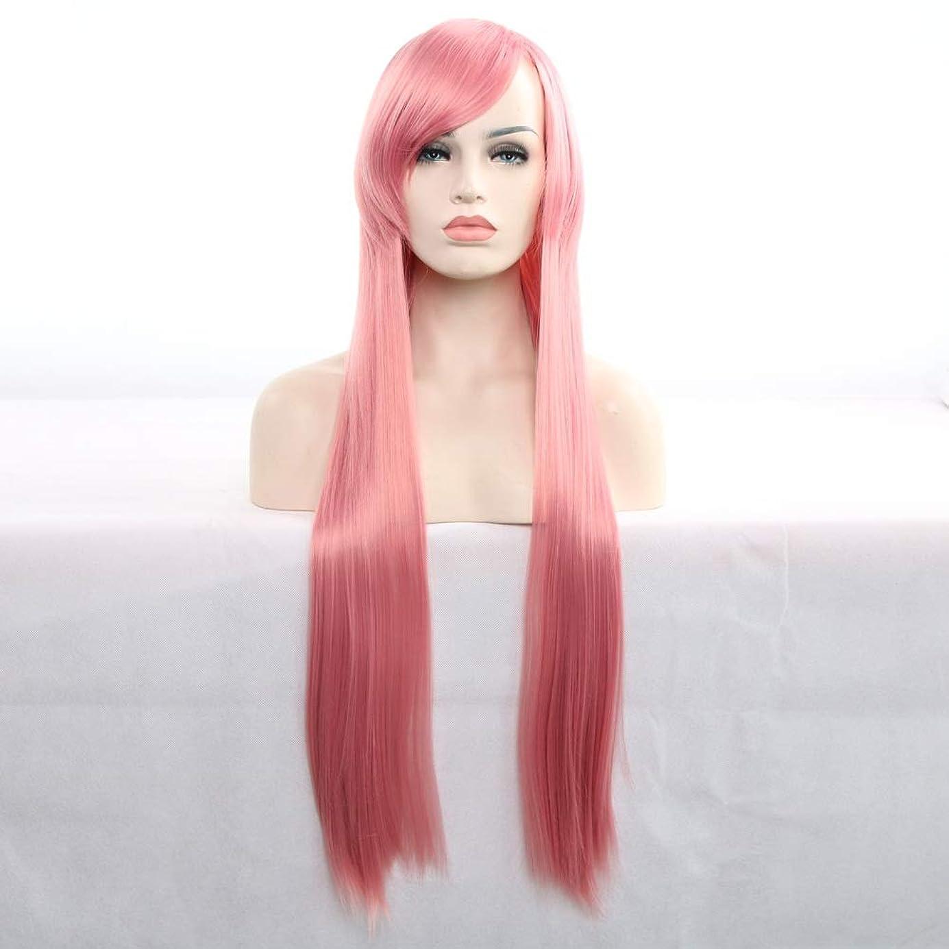陸軍カジュアルチップ女性のための前髪人工毛ウィッグ耐熱性繊維コスプレウィッグと30