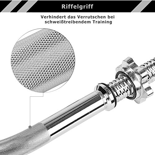 MOVIT® Gusseisen Kurzhantel 2er Set - 4