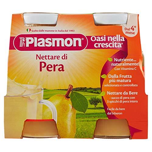 Plasmon Nettare di Pera, 4 x 125ml
