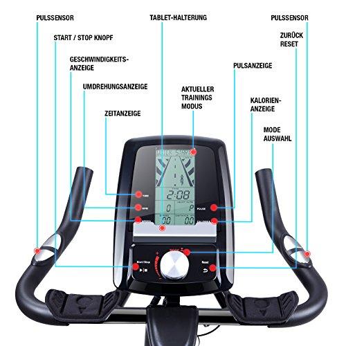 Sportstech Profi Indoor Cycle SX200 Hometrainer Fahrrad Bild 5*