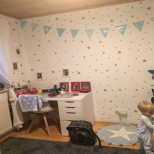 Adhesivo decorativo, adhesivo para pared de habitación no tóxico, decoración de papel tapiz, protección del medio ambiente, calcomanía de pared para el hogar, decoración(white)