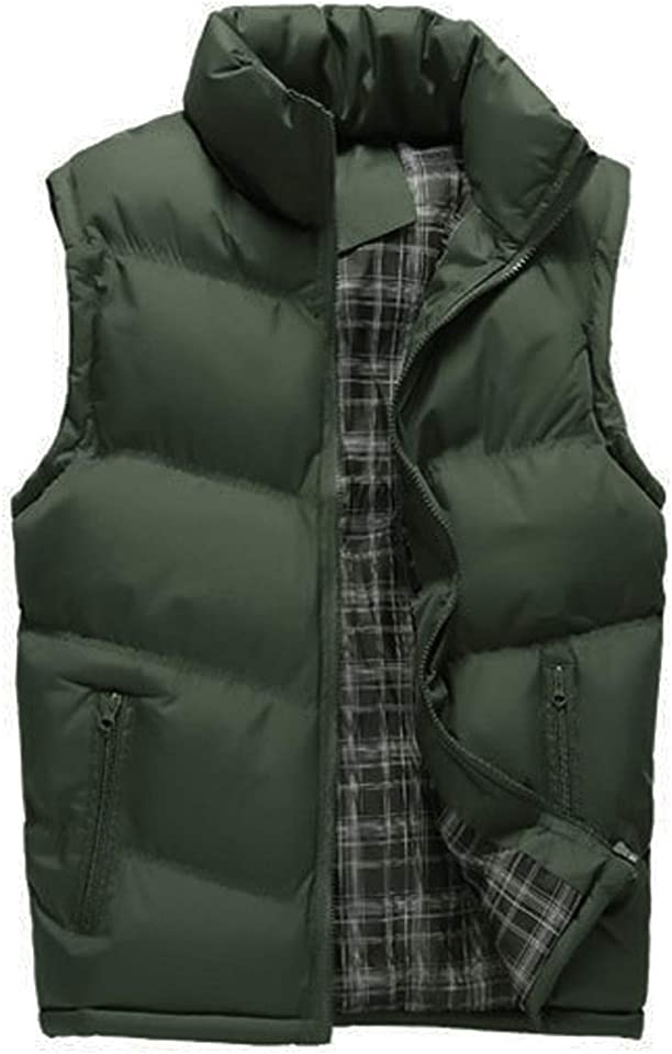 Mens Gilets Casual Outdoor Quilted Body Warmer Winter Classic Sleeveless Jackets