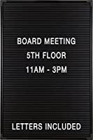 Balt Essentials Black Letter Board with Letters 12X18 (84176) [並行輸入品]