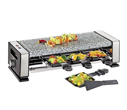 Küchenprofi Raclette VISTA8-KP1760502800/grau