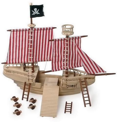 Bâteau de pirate