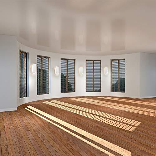 Ralbay Apliques de Pared Bañadores de Pared Lámpara de Pared 24W Agradable Luz Decoración para Dormitorio, Studio, Hogar Decoración, Porche, Blanco Cálido 2700K~3200K
