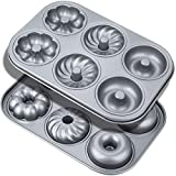 Donut Baking Pans, Non-Stick 6-Cavity With 3 Different Style...