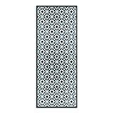 DON LETRA Alfombra Vinílica de Baldosas, 150 x 60 cm, Color Turquesa, Alfombra de Vinilo para Cocina, Impermeable y Antideslizante, Grosor de 2 mm, ALV-073