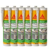 Sika Corporation 528149 Sikacryl Pofessional Acryl-Dichtstoff Fugendichter überstreichbar, weiß,...