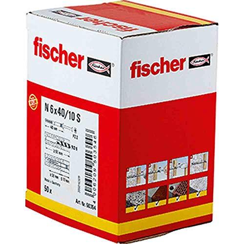 Fischer 50354 Nageldübel N 6 x 40/10 S (50)