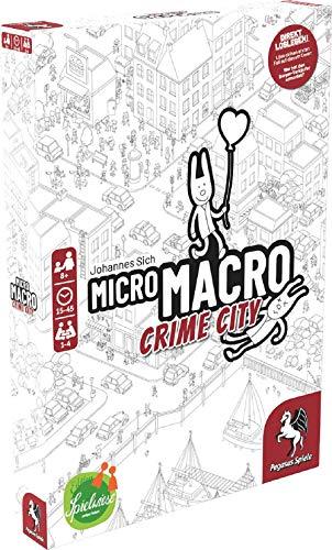Pegasus Spiele 59060G - MicroMacro: Crime City (Edition Spielwiese)