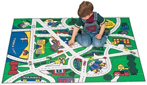 Miles Kimball Toy Car Floor Mat by Miles Kimball