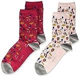 Esprit Woodland 2-Pack K So Calcetines, Multicolor (Surtido 0020), 35-38 (Pack de 2) Unisex niños