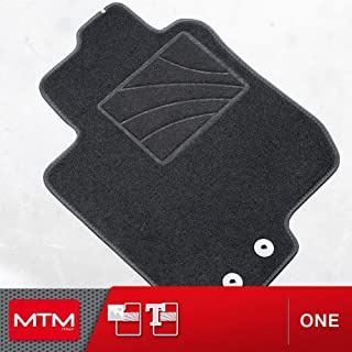 MTM Alfombrillas 3 III desde 09.2013-, a Medida en Velour Antideslizante One cod.