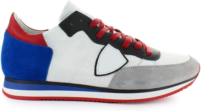 best sneakers 34e50 d75d1 Philippe Model Herren Schuhe Tropez Mondial Grau Blau Blau Blau Sneaker SS  2019 B07N88GPYN 0df4c5