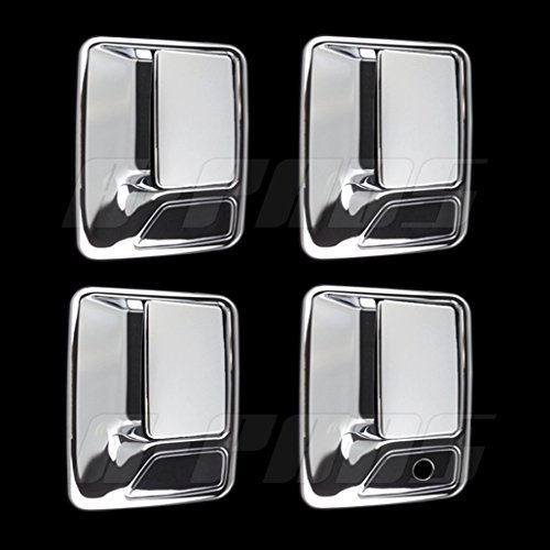 A-PADS 4 Chrome Door Handle Covers For Ford F-250, F-350, & F-450 + Super Duty...