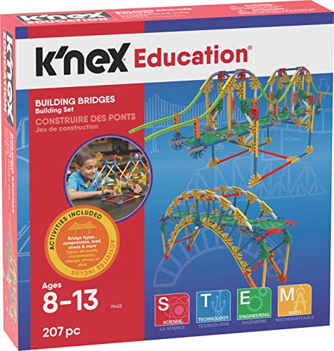 K'Nex 79433 Building Bridges (Amazon STEM Club) constructie, meerkleurig