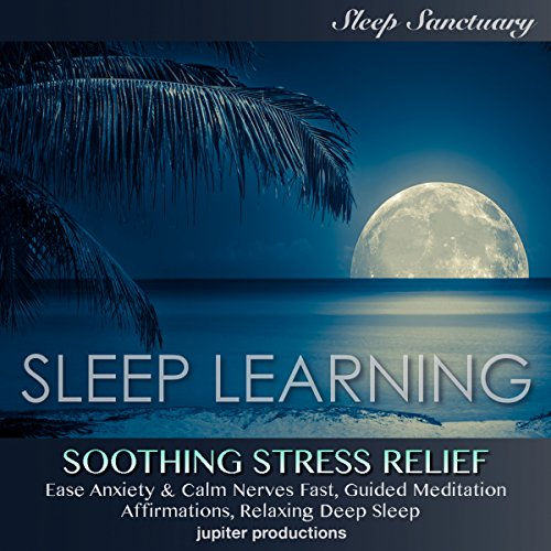 Soothing Stress Relief, Ease Anxiety & Calm Nerves Fast audiobook cover art