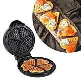 Stainless Steel Triangle Waffle Maker + Home Breakfast Cake Maker/Muffin Maker, Belgium Non-Stick