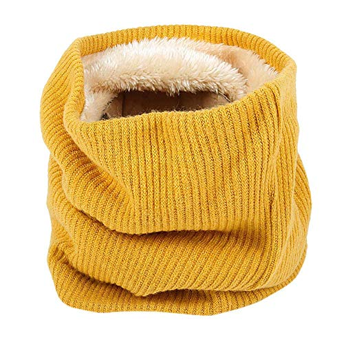 Seupeak Moda Suave Hombres Mujeres Bufanda Punto cálido Infinito Bufandas niños Bufanda, Collar Cuello cálido Anillo de Punto Chal pañuelo