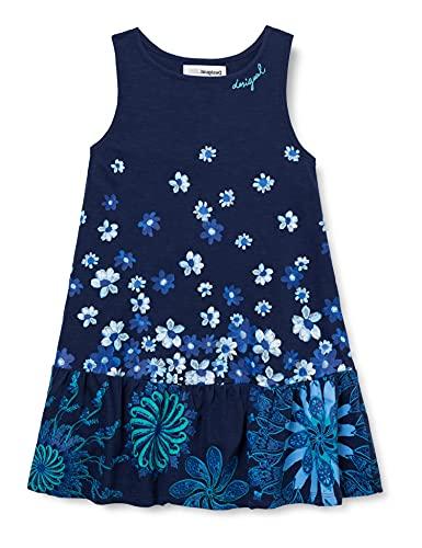 Desigual Vest_Lisa Vestimenta Casual, Blue, 11/12/2020 para Niñas