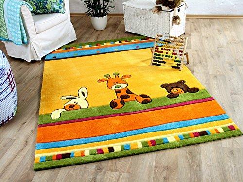 Lifestyle Kinderteppich Giraffe Gelb in 3 Größen !!! Sofort Lieferbar !!!