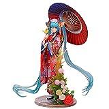 Factorydiy Figuras Anime Baratas Modelo de Anime Miku Kimono Hatsune Figura de acción PVC Muñeca Decoración Juguete...