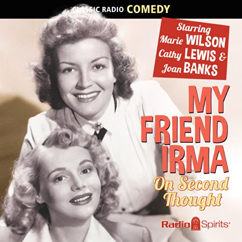 My Friend Irma audiobook cover art