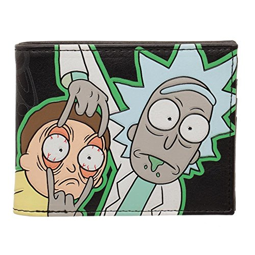 Rick And Morty Glow in the Dark Wallet