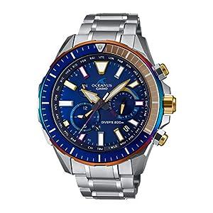 [カシオ] 腕時計 オシアナス ダイバーズウォッチ CACHALOT Bluetooth搭載 電波ソーラー ダイビングログ OCW-P2000D-2AJF メンズ シルバー