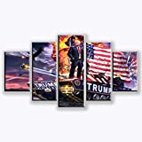 WARMBERL Leinwanddrucke 5 Stücke Von Donald Trump Poster