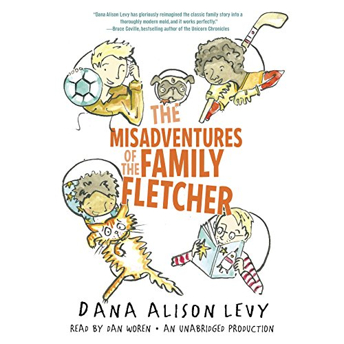 The Misadventures of the Family Fletcher audiobook cover art